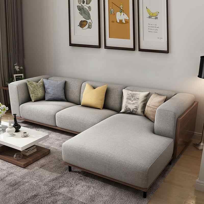 Recliner Koltuk Takimi Fotel Wypoczynkowy Puff Asiento Wooden Retro Mobilya Mueble De Sala Set Living Room Furniture Sofa