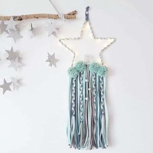 5 Star Shape Beads Tassels Wit