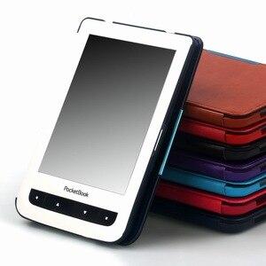 Gligle умный чехол для Pocketbook 614/614 Plus/615/624/625/626/640 Touch Lux2 PU кожаный чехол для электронной книги + экранная пленка + ручка