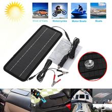 Universal 2018 New 12 Volts 4.5 Watts Portable Power Solar Panel Battery Charger Backup for Motorcycle Car Boat(China)