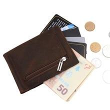 New Vintage Men's Genuine Leather Wallet