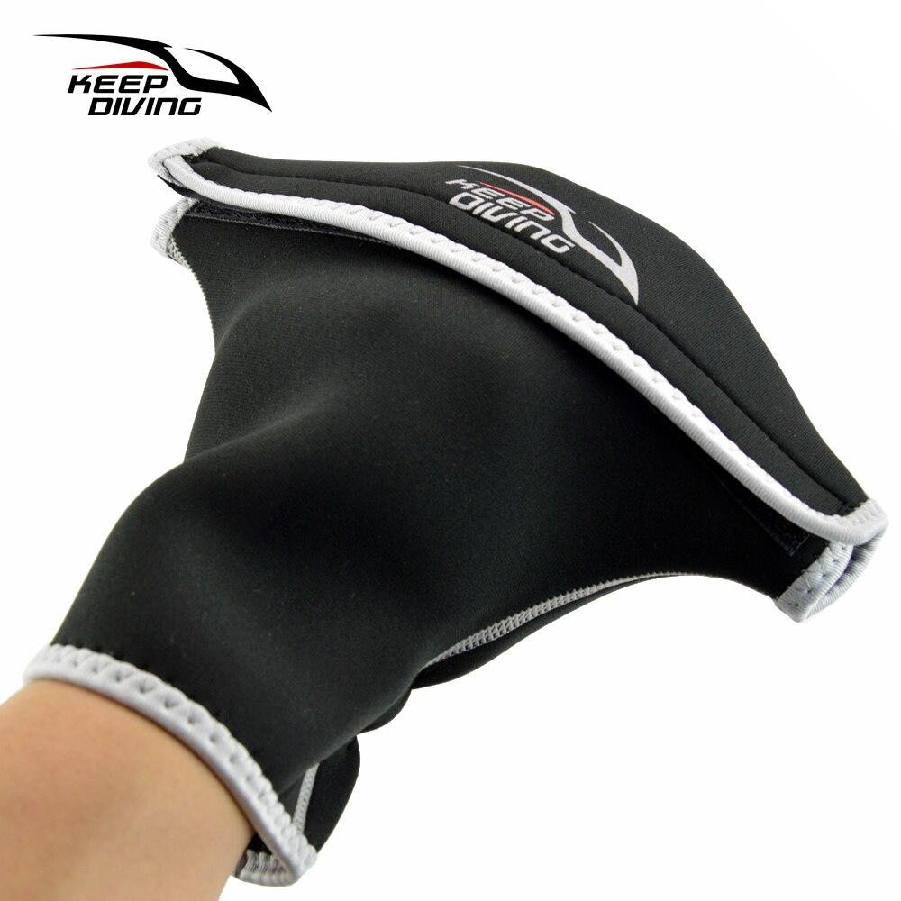 3mm Neoprene Paddle Grips Gloves Winter Warm Oar Gloves Oarage Gloves Quant Gloves Canoe Canoeing Kayak Inflatable Boat Drifting