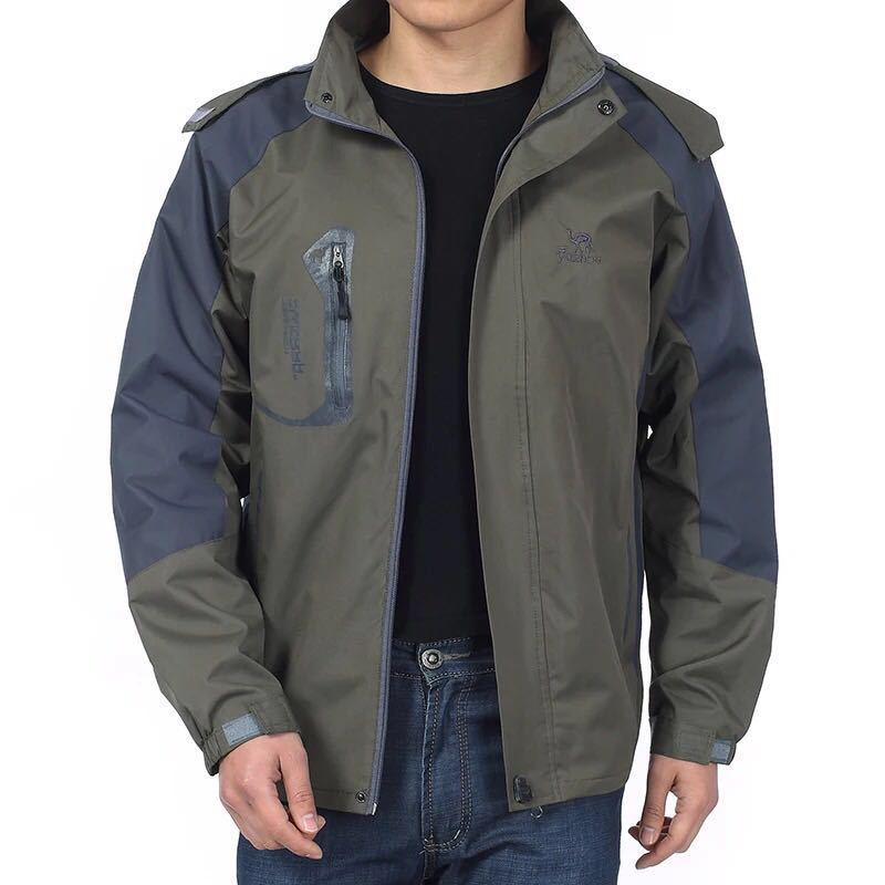 1PC Drop Shipping New Outdoor Men Fishing Jacket Spring Autumn Pesca Clothes Coat Waterproof Breathable Hiking Fishing Clothing