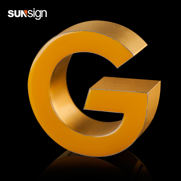 Led Epoxy Resin For Signage Wholesale Resin Letter Custom Metal Letter Sign For Advertising