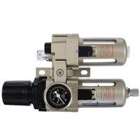 Durable Air Compressor Filter Regulator Gauge Trap Oil Water Separator Trap Filter Regulator Gauge Mayitr New Arrival