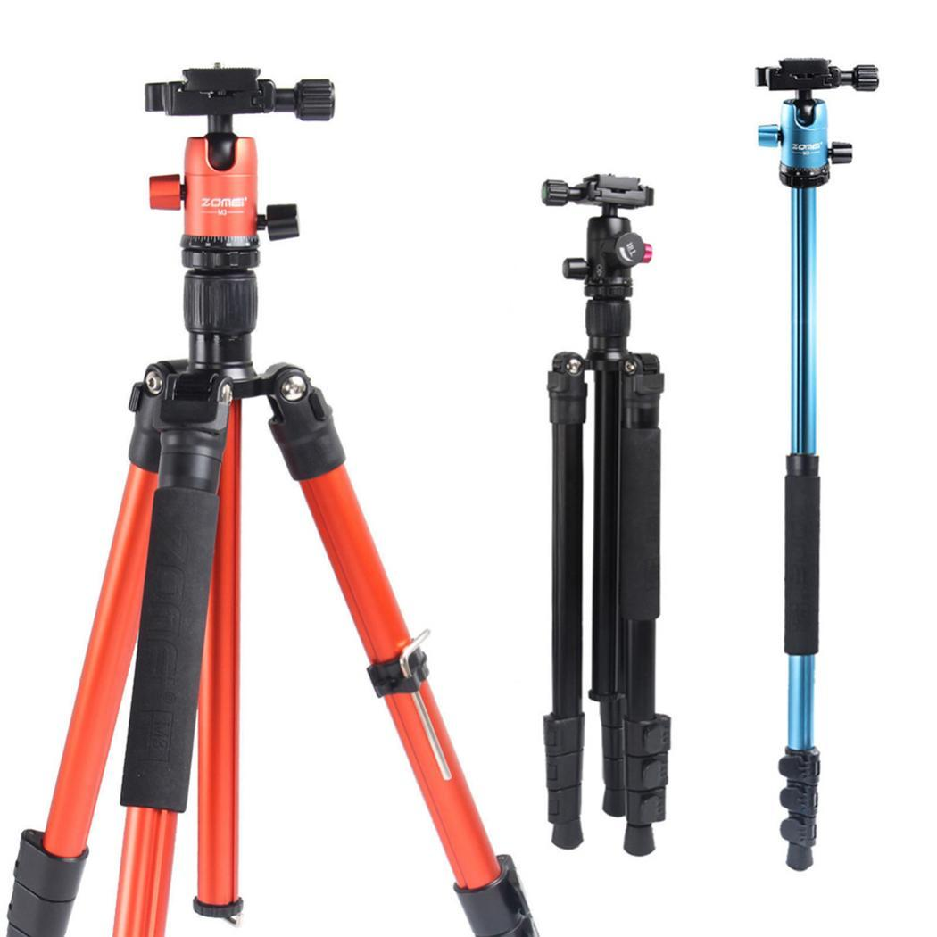 Zomei M3 Camera tripod Lightweight aluminium Stand Tripod Monopod with Ball Head Quick Release Plate for SLR DSLR Live Shooting - 4
