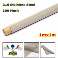 1M*1M 300 Mesh Filtration 316 Stainless Steel Woven Wire Filtration Screening Filter Screening filter