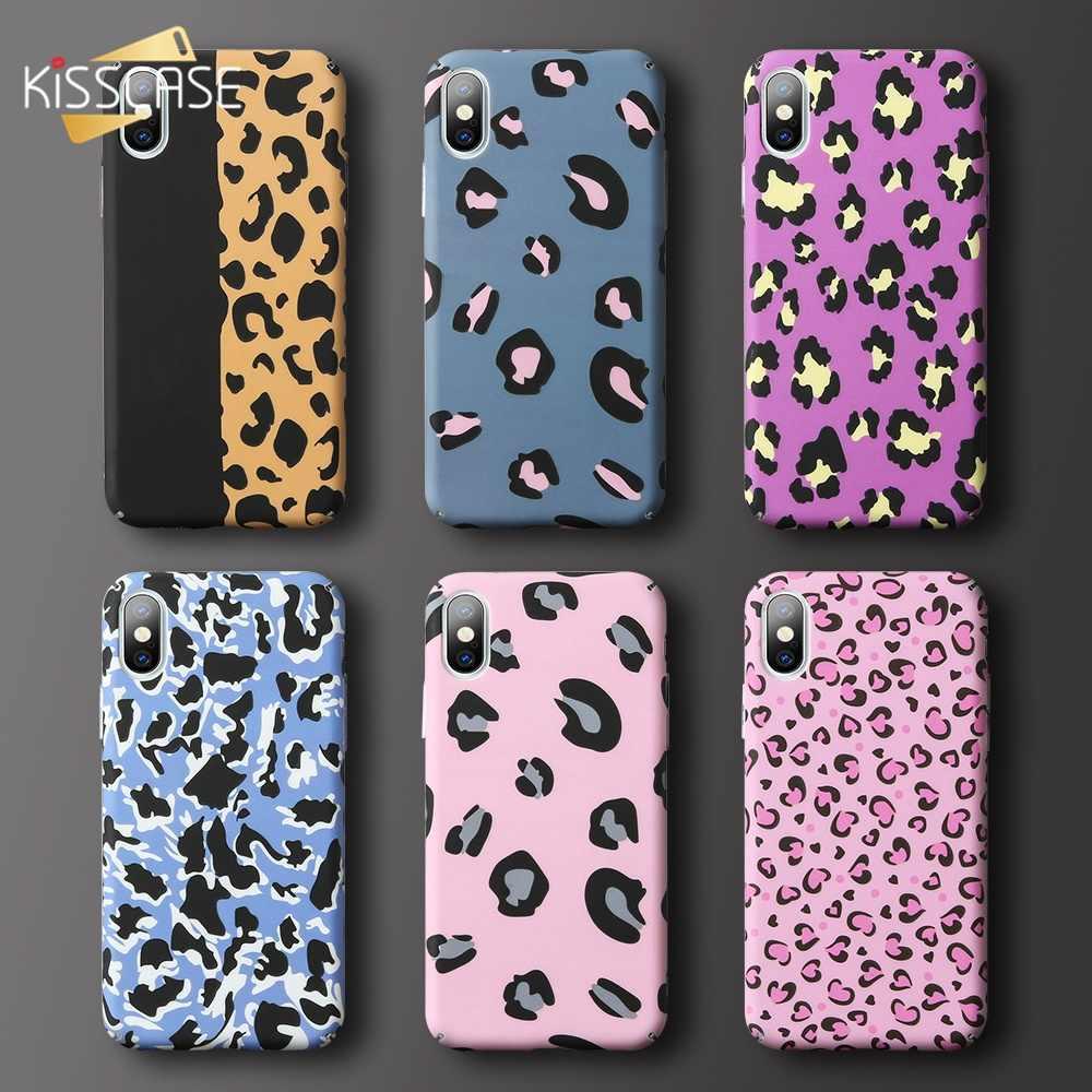 KISSCASE леопардовый чехол для телефона для huawei Коврики 20 Lite P30 P20 P10 Pro Lite плюс P Smart 2019 Honor 9 10 Lite светящийся чехол-накладка
