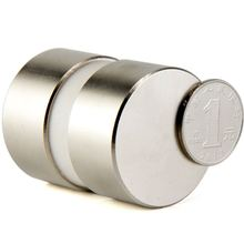 2 шт. неодимовые N52 40 мм X 20 мм сильные магниты крошечный диск NdFeB редкоземельный для рукоделия моделей на холодильник 40x20 50x30 50x20