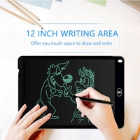 12 Inch LCD Writing Tablet Digital Drawing Tablet Handwriting Pads Portable Electronic Tablet Board with Stylus Pen