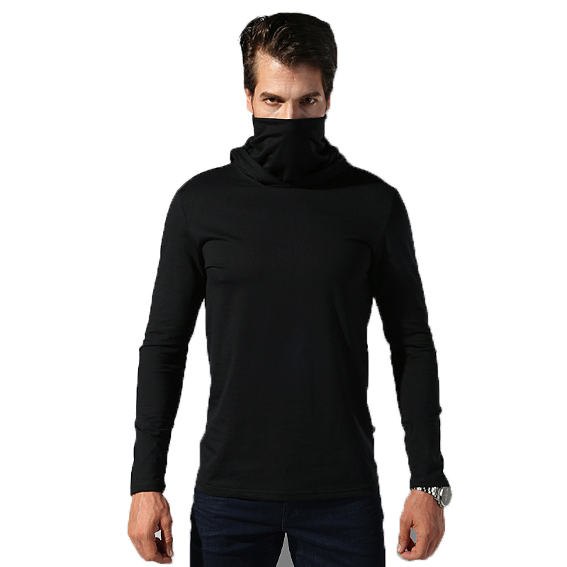 Military Hoodies Mens Turtleneck Hoody 2019 Male Clothes Style Long-Sleeved Men Sweatshirt Fashion Casual Spring Autumn Brand