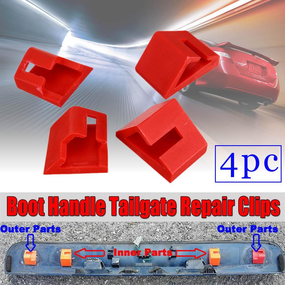For Nissan QASHQAI (2006 - 2013) +2 (2008 - 2013) Boot Handle Tailgate Repair Clips Direct Replacement Kit ABS