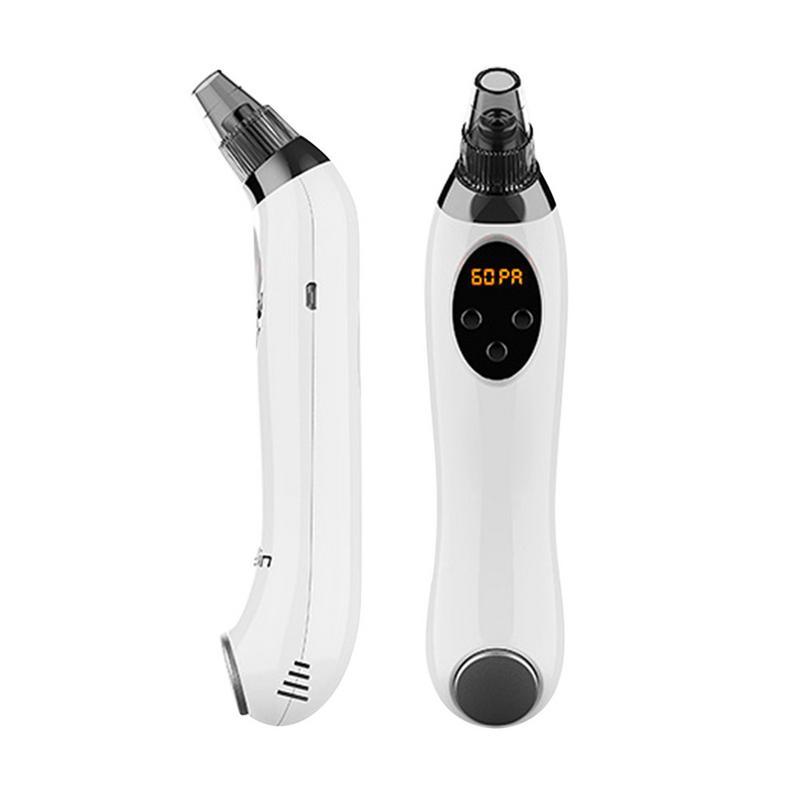 Machine électrique d'élimination des points noirs aspiration d'acné petite bulle Instrument de beauté dispositif de nettoyage des pores du visage