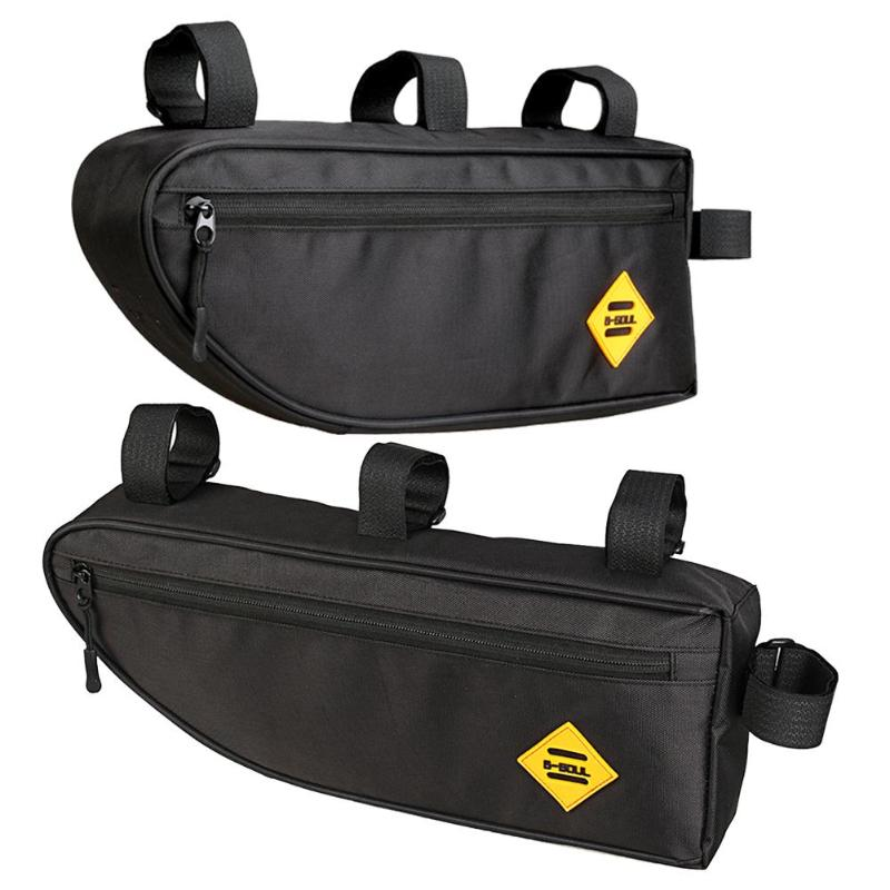 Triangle Bag Bike Frame Front Tube Bag Waterproof Pouch