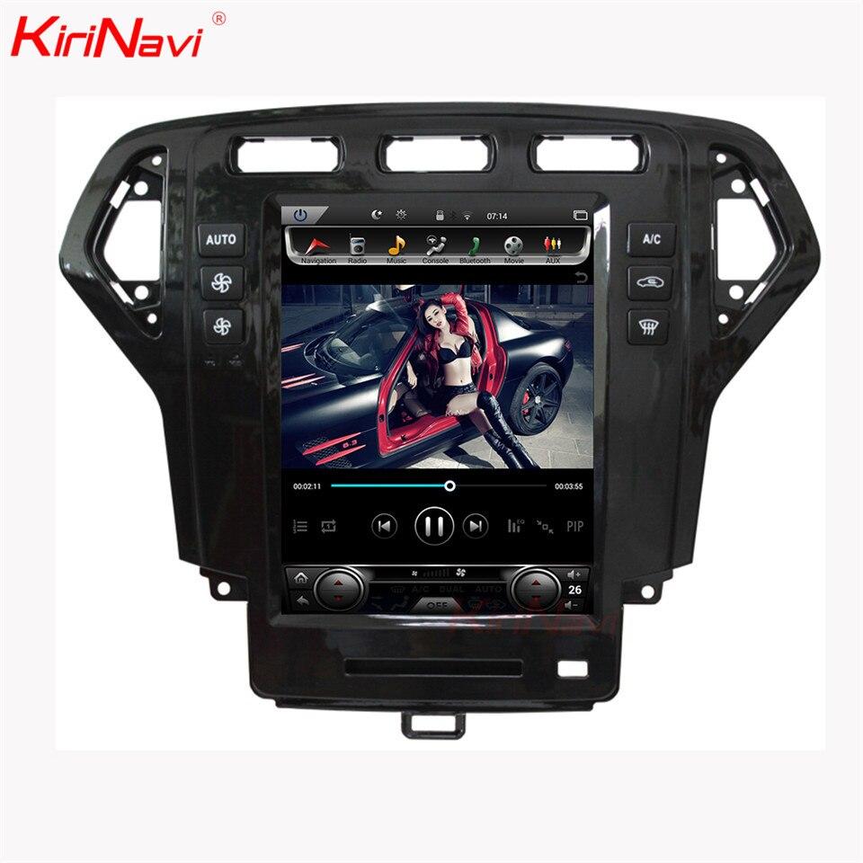 KiriNavi 10,4 Android 8,1 Radio del coche para Ford Mondeo coche Dvd reproductor Multimedia Android GPS de navegación 2007-2010 auto radio WIFI