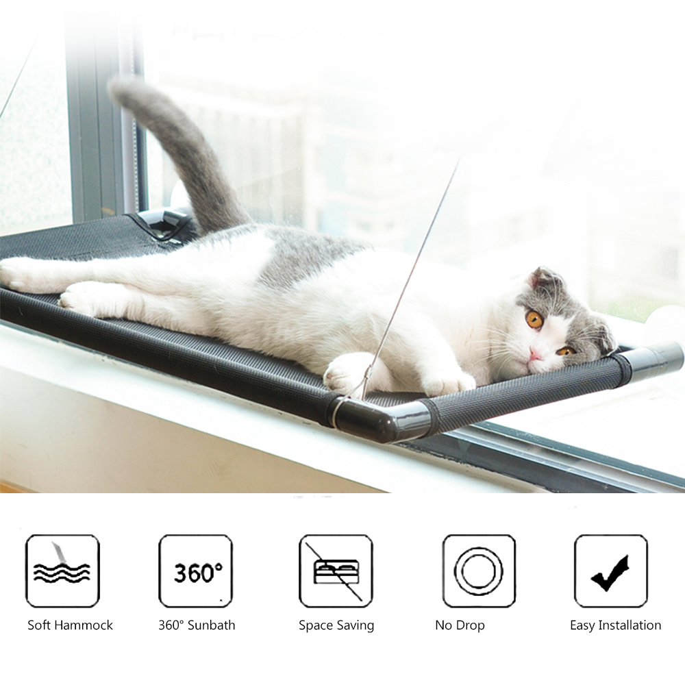 Admirable Us 17 11 49 Off Hammock For Cats Pet Window Beds Seats Perch Safe Reliable Woven Mat Window Bed Seat Cat Waterproof Bed For Cats Hold Up 20Kg In Cat Evergreenethics Interior Chair Design Evergreenethicsorg