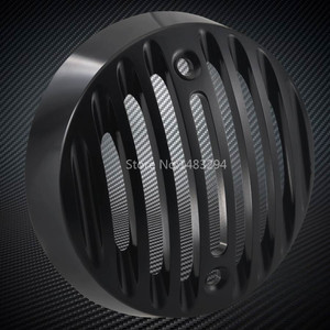 Image 3 - New 2 x Pair Black Alloy Turn signal Lights Trim Grills Caps Fit For Royal Enfield Classic 500 Serises Models