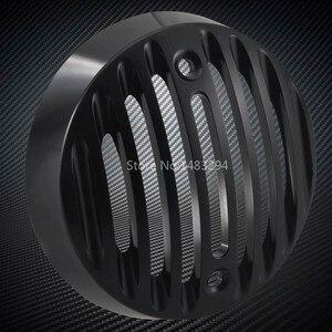Image 3 - Nuovo 2 x Coppia In Lega Nero segnale di girata Luci Trim Griglie Caps Misura Per Royal Enfield Classic 500 Modelli di Serises
