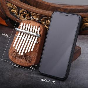 Image 5 - GECKO 8 Key Mini Kalimba African Camphor Wood Mahogany Thumb Piano Finger Percussion Keyboard Mbira Sanza Musical Instrument