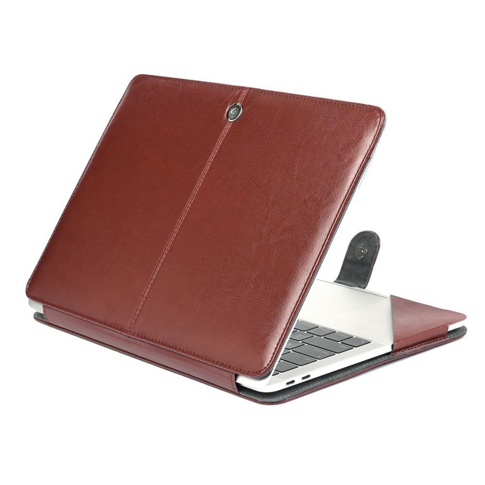 PU Leather Case For Apple macbook Air Pro with Retina 11 12 13 15 inch For Macbook Pro 13 laptop leather case for Macbook Air 13 рукава мультипликация полиэстер для новый macbook pro 13 macbook air 13 дюймов macbook pro 13 дюймов