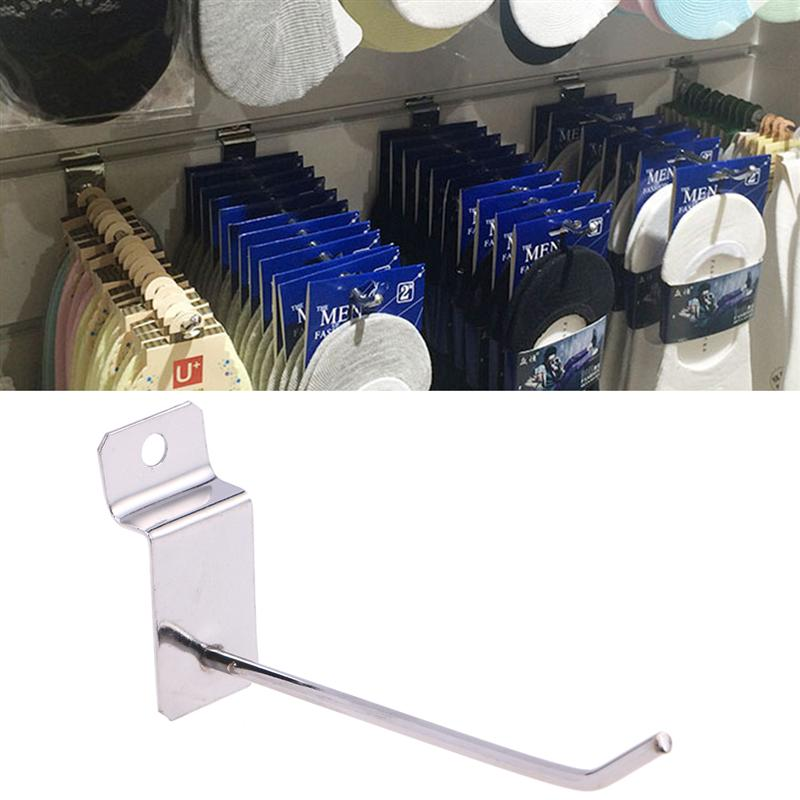 20Pcs Panel Display Durable Gridwall Slatwall Hooks For Retail Store Home Garage