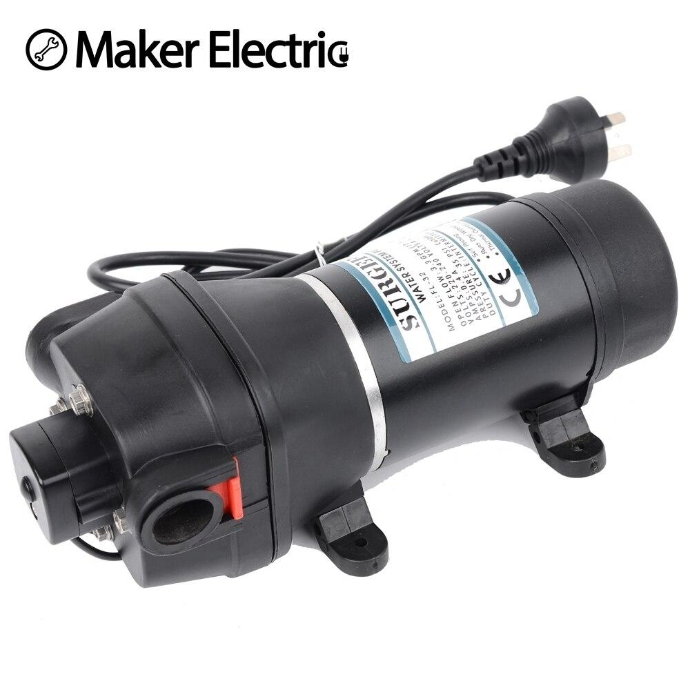 FL-32 220 v ac pompe à eau auto-amorçante pompe à membrane mini pompe Submersible pressostat automatique 20 m ascenseur