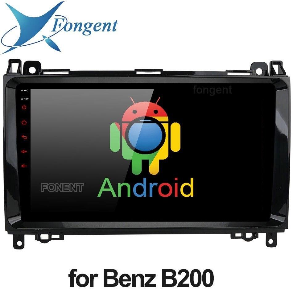 IPS Android 9.0 Unidade DVD Radio Stereo Player Para Mercedes Benz Vito Viano Sprinter UMA Classe B B200 W906 W469 w245 W169 GPS Rádio