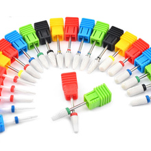 23 Type Nail File Electric Bit Manicure Drill Machine Alloy Ceramic Rotate Burr Milling Cutter Grinding Head Sander Tool цены