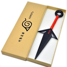 Anime Naruto Namikaze Minato Plastic Kunai Japanese Ninja Cosplay Weapon Props Accessory(China)