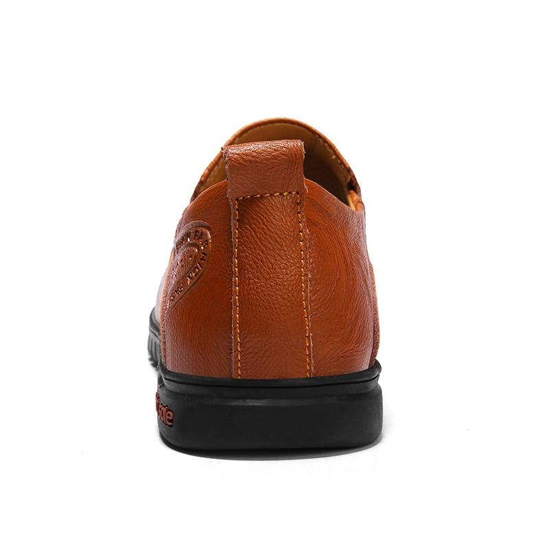 Superior 1858hei Mocassins Divisão Em 1858huangzong Sapatos 1858hongzong Loafers Casuais Homens Size 36 Qualidade 46 Nova De ~ Couro Baixos Chegada Moda Deslizamento Condução Big xqvFgCTnpn