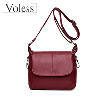 Bags for Women 2019 PU Leather Satchel Shoulder Tote Quality Crossbody Women Female Ladies Girls Messenger Bag Bolsa Feminina women lady leather satchel handbag shoulder tote messenger crossbody bag crossbody bags for women 2017 luxury bolsa feminina