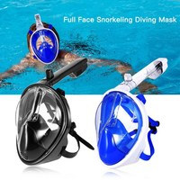 Full Face Snorkel Mask Snorkeling Water Silicone Swimming Mirror Adult Diving Glasses Goggles Equipment Set Scuba Dive Anti Fog