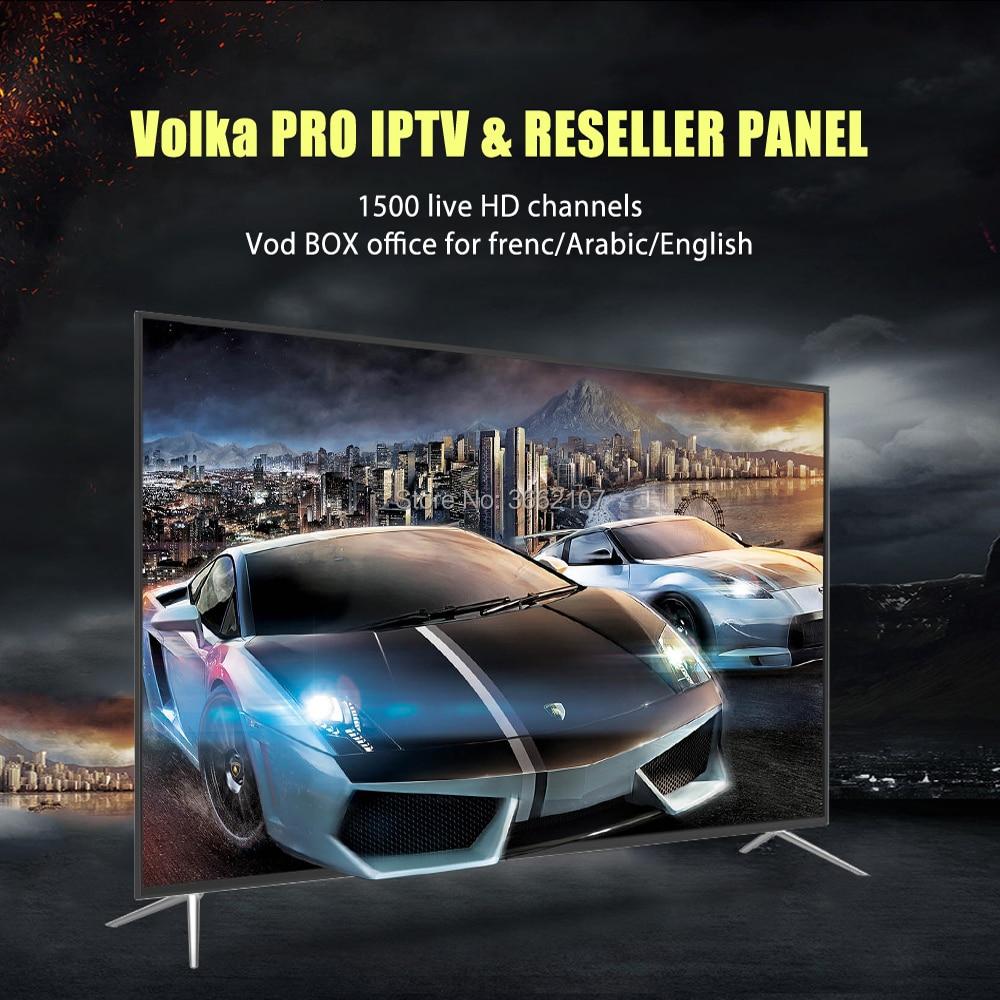 สมาร์ททีวี VOLKA pro Iptv subscription