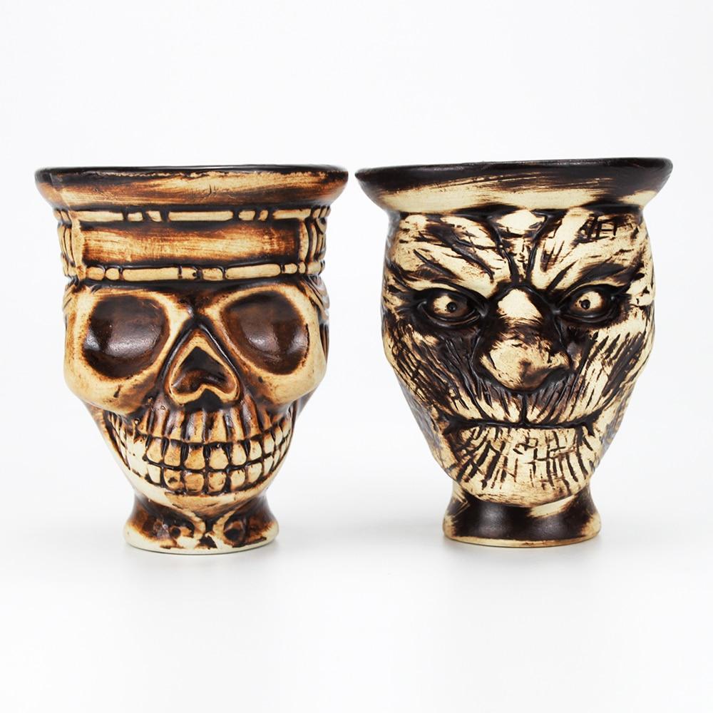 Skull Hookah Shisha Tobacco Bowl for Nargile Sheesha Narguile Chicha Cachimbas Shisha Bowl Holder Head Accessories