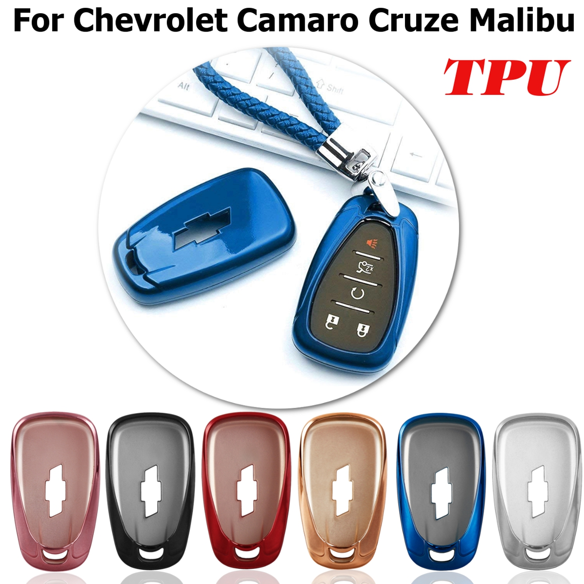 New Soft Tpu Car Key Covers Key Case Fob Shell For Chevrolet Cruze Spark Sonic Camaro Volt Bolt Trax Malibu Cruze Cat-styling Buy One Get One Free Key Case For Car Automobiles & Motorcycles