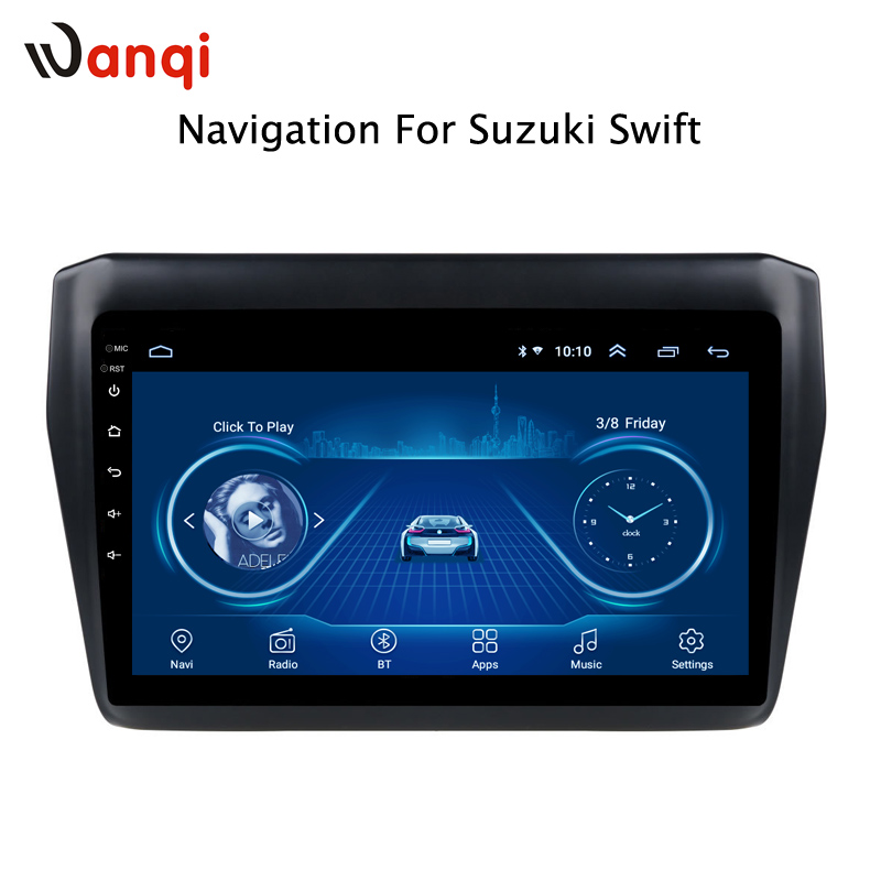 Android 8.1 For Suzuki Swift 2017 2018 2019 Car DVD Multimedia Player GPS Navigation Stereo Radio BT WIFIAndroid 8.1 For Suzuki Swift 2017 2018 2019 Car DVD Multimedia Player GPS Navigation Stereo Radio BT WIFI