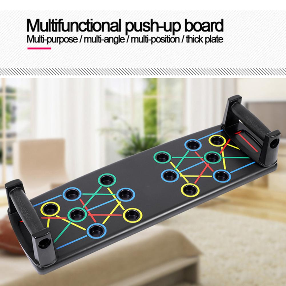 Nouvelle plaque de Support multi-fonctionnelle Push Up Rack Board haute qualité poignée antidérapante accueil Fitness exercice entraînement Push-Up Board