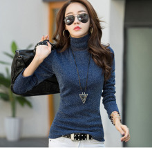 2019 Cashmere Sweater O-neck knitted sweater women long sleeve casual shirt L Thin