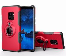 mobile cell phone holder magnetic hybrid bracket metal ring Raindrop case FOR SAMSUNG Galaxy s9