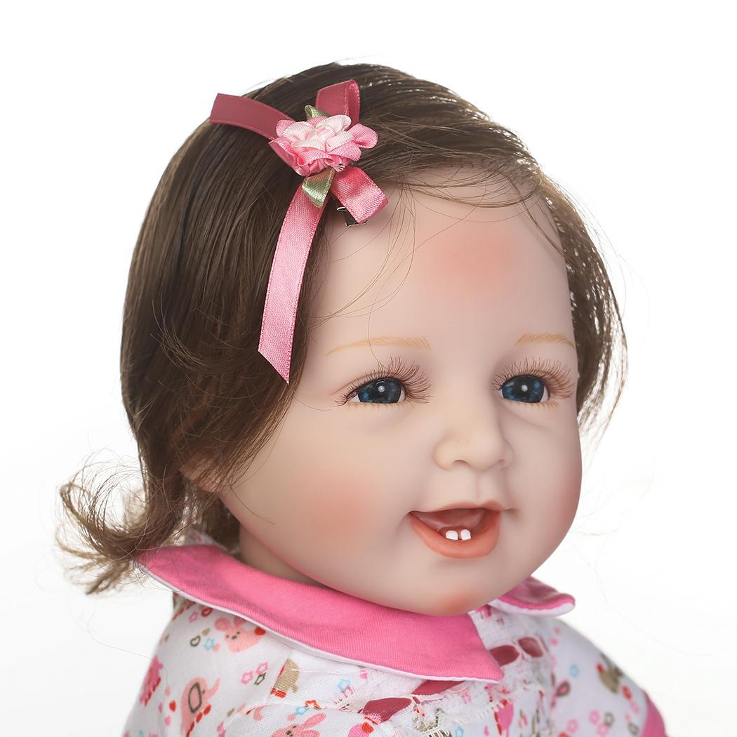 Kids Soft Silicone Realistic With Clothes Reborn Unisex 2-4Years Baby Collectibles, Gift, Playmate DollKids Soft Silicone Realistic With Clothes Reborn Unisex 2-4Years Baby Collectibles, Gift, Playmate Doll