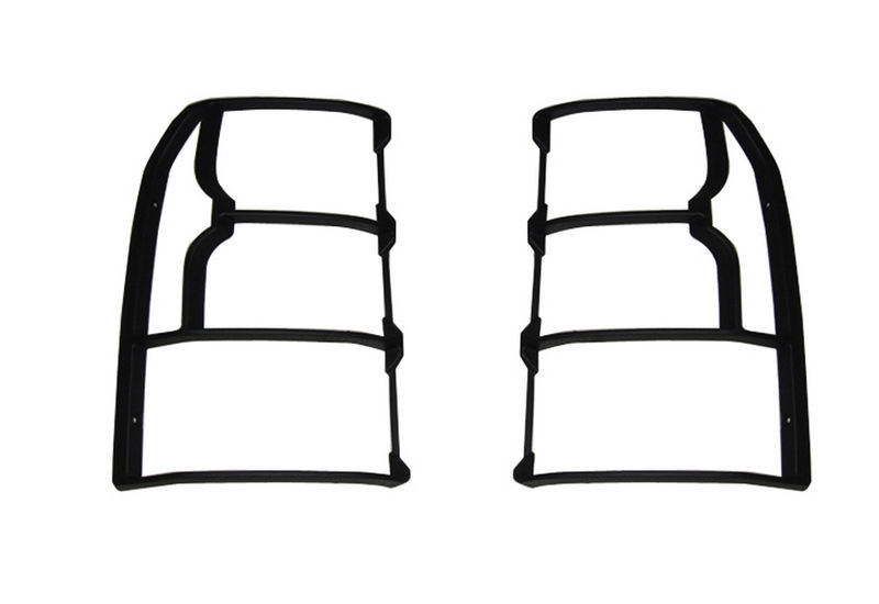 Fit For 2010-2015 Land Rover LR4 Discovery 4 Rear Tail Light Guards Cover Trim