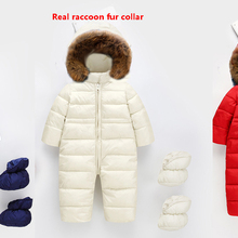 Child Skiing Suit Snowsuit Baby Boys Jumpsuits Cloth cotton