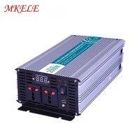 USB Output 5V 500mA 2000w Solar Inverter 12/24/48v 110/220v Fan Cooling Off Grid Output Waveform Pure Sine Wave