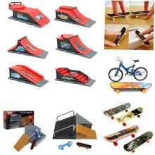 1PC Kids Children Mini Finger Board Fingerboard Skate Boarding Toys Children Gifts Creative DIY Handicraft Toys