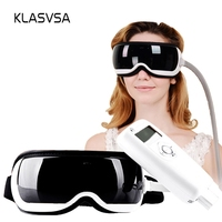 KLASVSA Heating Air Pressure Eye Massager Music Therapy Dispel Eye Bags Remove Wrinkle Acupoints Massage Relaxation Health Care
