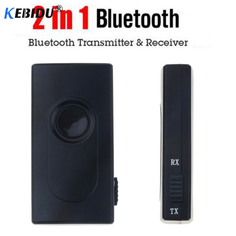 KEBIDU Bluetooth V4.2 Transmitter Receiver Wireless A2DP 3.5mm Adapter Stereo Audio Dongle For TV Car Speakers MP3 MP4 Headphone Lahore
