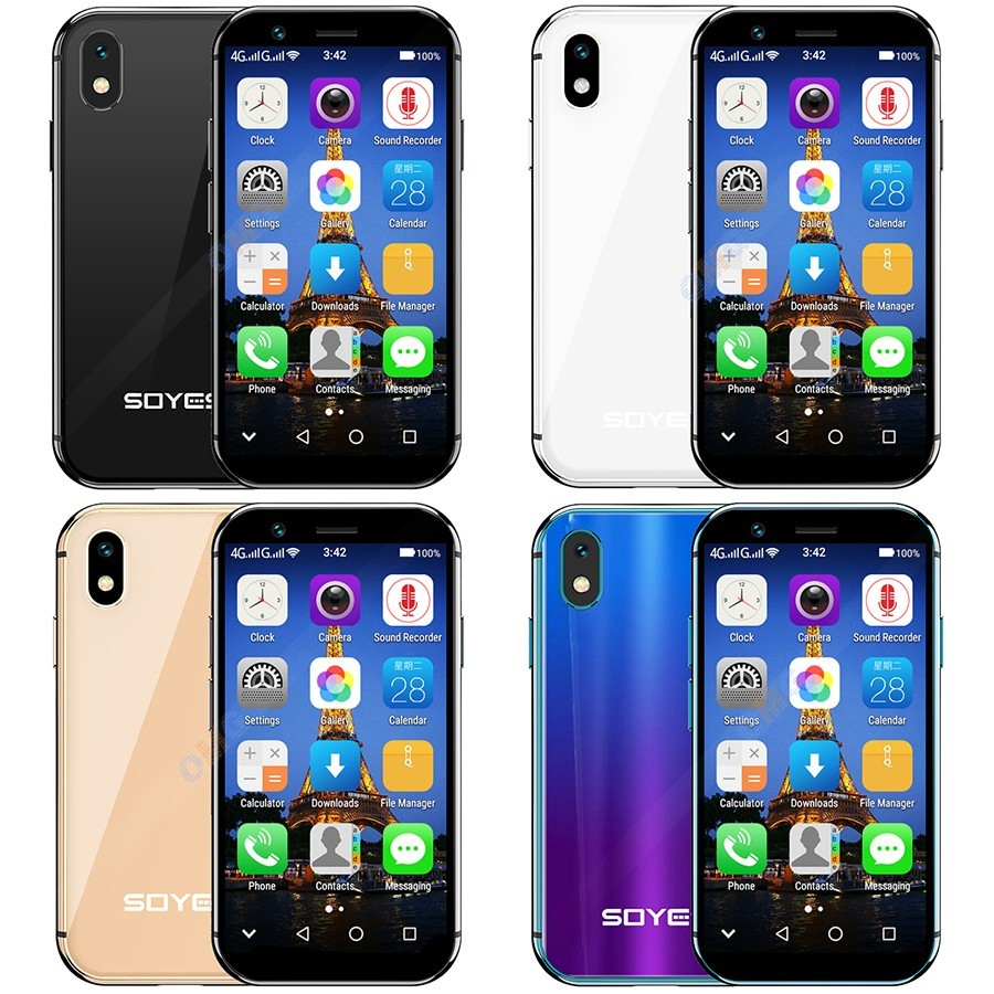 """Image 3 - soyes xs Google play 4G smartphone 2GB 3GB RAM 16GB 32GB ROM 3.0"""" small mini mobile phone android 6.0 Unlock Dual sim Face ID-in Cellphones from Cellphones & Telecommunications"""