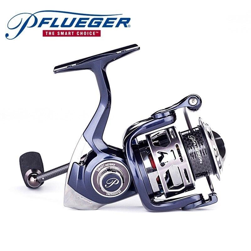 Pflueger Patriarch PARSP25X 30X 35X Fishing Spinning Reel 9 1BB 5 2 1 150g Lightweight Carbon