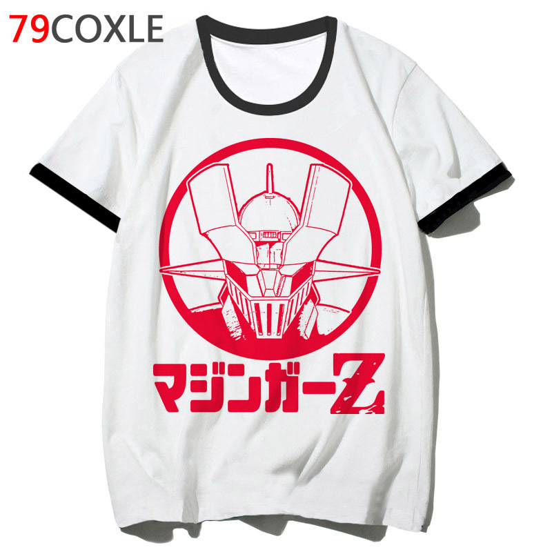 <font><b>Mazinger</b></font> <font><b>Z</b></font> <font><b>t</b></font> <font><b>shirt</b></font> funny school men streetwear <font><b>t</b></font>-<font><b>shirt</b></font> top hip 2019 tee clothing for hop harajuku male tshirt F2660 image