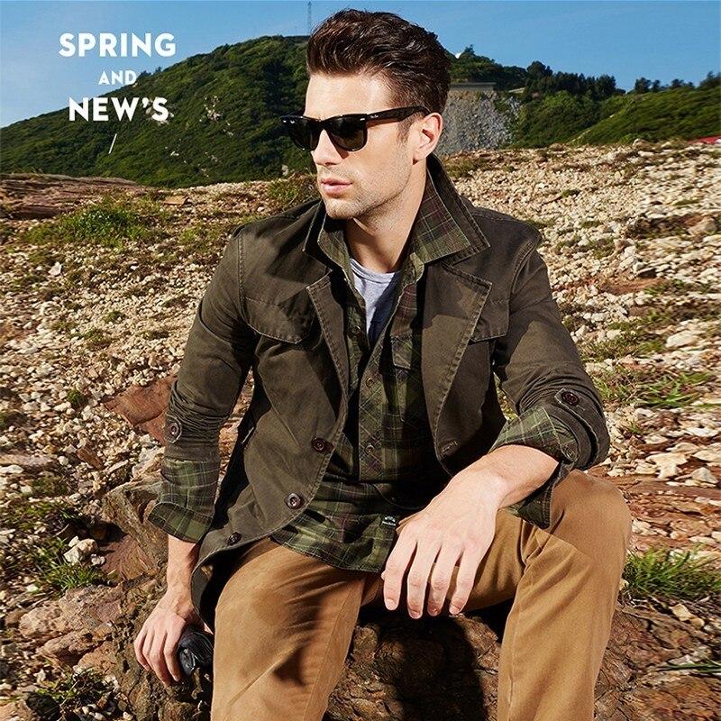 Men 2019 Spring Autumn New Business Casual Long Cotton Trench Coat Jacket Men Winter Brand Classic Trench Breasted Overcoat Men мужские кожанные куртки с косой молнией
